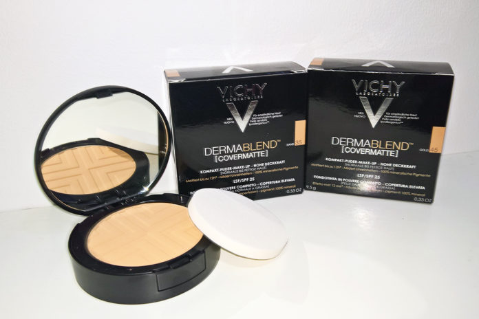 Nuz Shugaa Review Vichy DermaBlend COVERMATTE Foundation