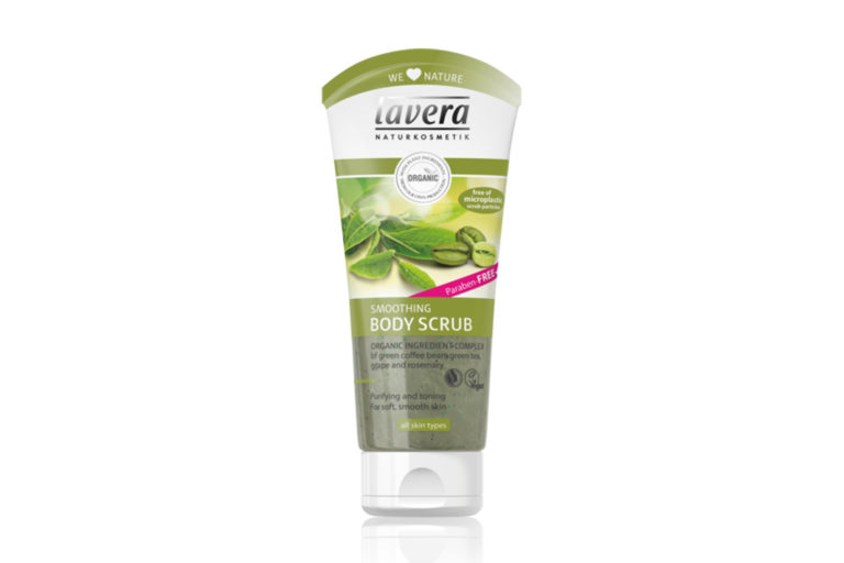 Dare You Bare with Lavera Smoothing Body Scrub!