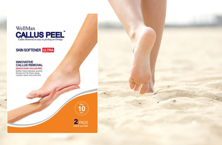 Nuz Shugaa's Review of the WellMax Callus Peel at Beauty Lounge London