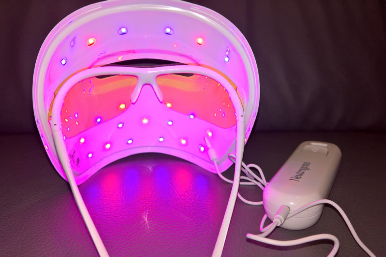 Beam Me Up! With The Light Therapy Acne Mask by Neutrogena